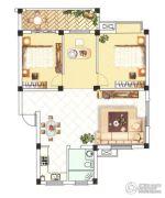 中浪玉泉花苑3室2厅1卫101平方米户型图