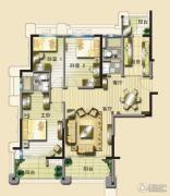 碧桂园凤凰城3室2厅2卫137平方米户型图