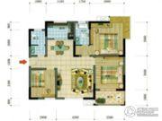 四通南城学府3室2厅2卫0平方米户型图