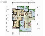 天元翡翠国际3室2厅2卫189平方米户型图
