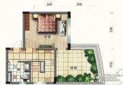 碧桂园・滨海城2室2厅2卫104平方米户型图