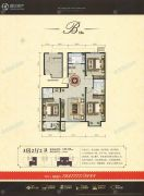 宏宇亚龙湾3室2厅2卫125平方米户型图