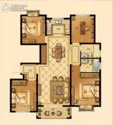 中梁香缇公馆4室2厅2卫132平方米户型图