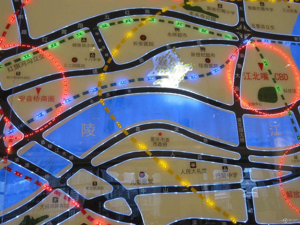 金融街融景城规划图