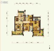 天隆三千海3室2厅2卫155平方米户型图
