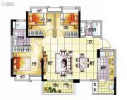 越秀保利爱特城3室2厅2卫100平方米户型图