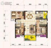 时代倾城3室2厅2卫111平方米户型图
