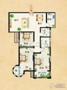 瑞星花园3室2厅2卫131平方米户型图