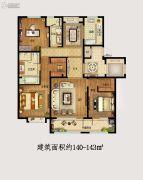 金隅和府3室2厅2卫140--143平方米户型图