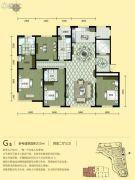 汇锦庄园4室2厅3卫0平方米户型图