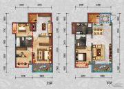 君悦国际4室3厅2卫0平方米户型图