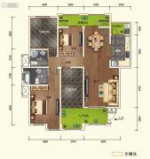 中交锦湾一期4室2厅2卫112平方米户型图