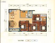 瑞鼎城4室2厅2卫134平方米户型图