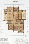 大港御景新城3室2厅2卫134平方米户型图