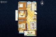 宇业天逸华庭3室2厅1卫101平方米户型图