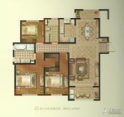 景瑞望府3室2厅2卫133平方米户型图