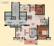 亿邦豪庭6室3厅2卫180平方米户型图