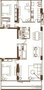中鹰黑森林2室1厅1卫0平方米户型图