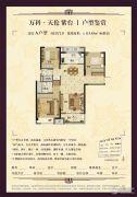 万科天伦紫台3室2厅2卫115平方米户型图