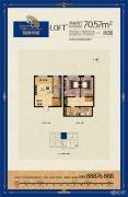 锦绣华城2室2厅0卫0平方米户型图