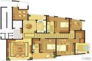 长顺滨江皇冠5室2厅3卫223平方米户型图