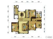 水韵豪庭4室2厅2卫199平方米户型图