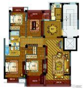 紫东名府4室2厅2卫0平方米户型图