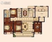 苏州唐宁府4室2厅2卫163平方米户型图