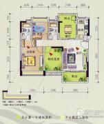 美林假日2室2厅2卫0平方米户型图