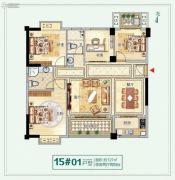 龙泉丽景4室2厅2卫0平方米户型图