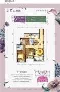 柳江碧桂园3室2厅2卫114--130平方米户型图