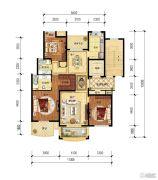 保集湖海塘庄园3室2厅2卫142平方米户型图