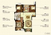 康桥九溪郡3室2厅1卫125平方米户型图