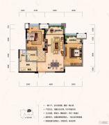 财信沙滨城市2室2厅1卫66平方米户型图