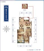 绿城桃源小镇4室2厅2卫0平方米户型图