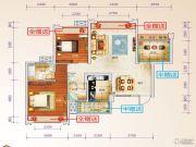 星光大道3室2厅2卫100--105平方米户型图
