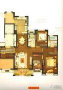 象屿两岸贸易中心4室2厅2卫157平方米户型图