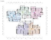 中森茗苑71--87平方米户型图
