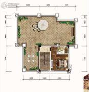 雅居乐三千院6室2厅4卫301--305平方米户型图