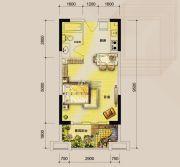 东湖天下3室2厅2卫126平方米户型图