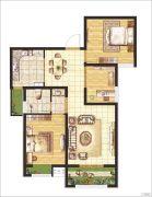 晖祥・江山3室2厅1卫97平方米户型图