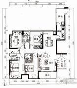 云顶澜山4室2厅2卫168平方米户型图