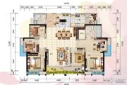 虎门万达广场5室2厅2卫0平方米户型图