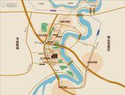 天泰钢城印象交通图