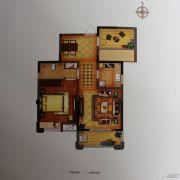 禹洲翡翠湖郡1室2厅1卫79平方米户型图