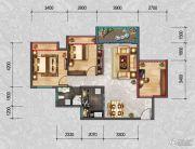 君悦国际3室2厅1卫0平方米户型图