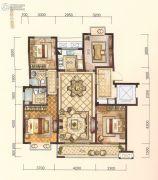 中梁・悦荣府4室2厅2卫131平方米户型图