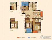 金浦紫御东方3室2厅2卫-10平方米户型图