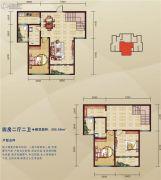泛宇惠港新城4室2厅2卫205平方米户型图