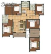 阳光福园3室2厅2卫132平方米户型图